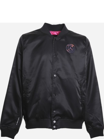 Jordan Jordan X Psg Bomber Jacket With Logo Patch