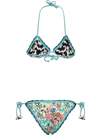 Anjuna Reversible Bikini With Floral Print
