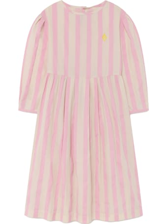 The Animals Observatory Multicolor Dress For Girl With Logo