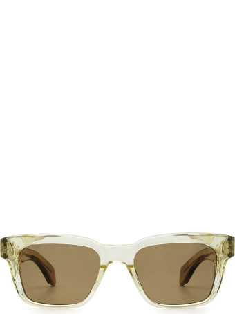 Jacques Marie Mage Jacques Marie Mage Molino Light Gold Sunglasses