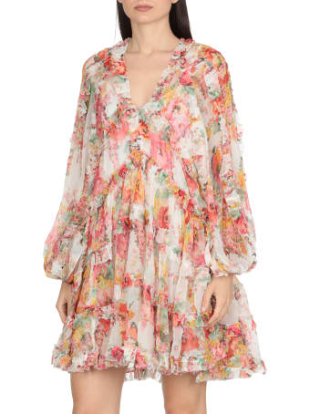 Zimmermann Mae Frill Billow Dress