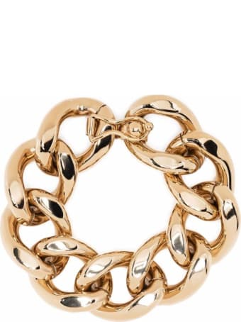 Isabel Marant Chain Brass And Aluminum Bracelet