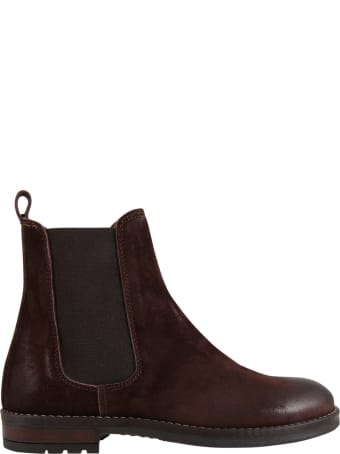 Gallucci Brown Boots For Kids