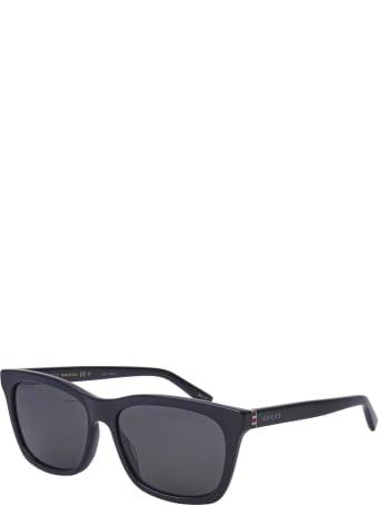Gucci Gucci Gg0449s Black Sunglasses