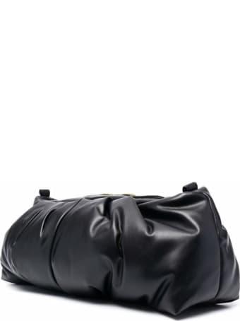 Ash Puffy Leather Black