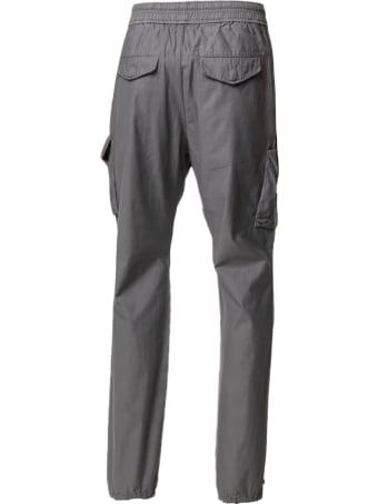 John Elliott Grey Cotton Cargo Trousers