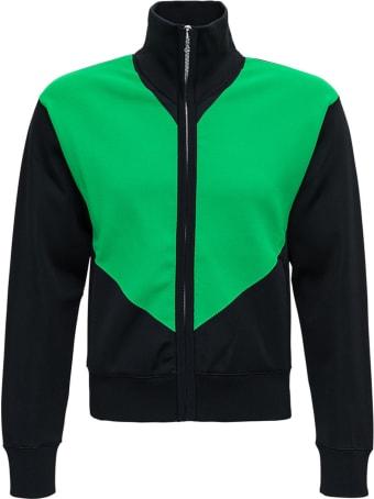Bottega Veneta Bicolor Sweatshirt In Viscose Blend