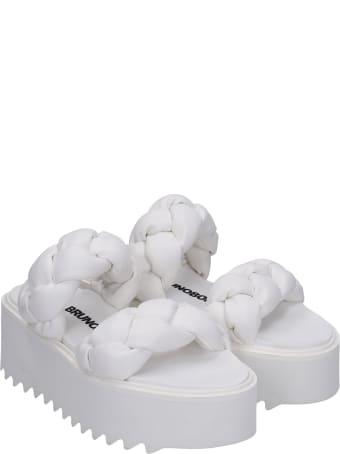 Bruno Bordese Rose Sandals In White Leather