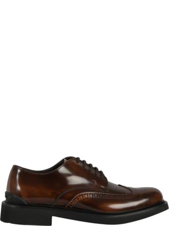 Tod's Allacc. Bucature Semiform Laced Shoe