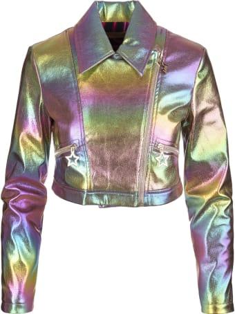 Teen Idol Multicolored Pegaso Jacket