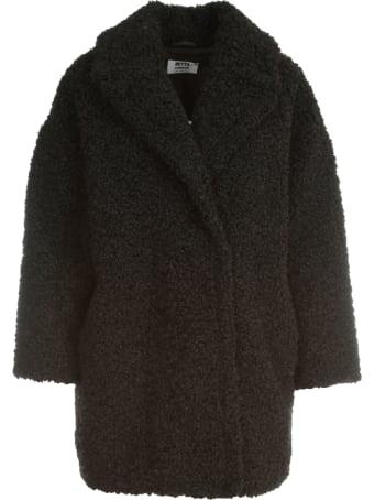 Betta Corradi Revers Neck Double Breasted Coat