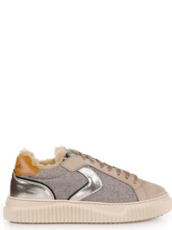 Voile Blanche Sneakers Lipari Fur