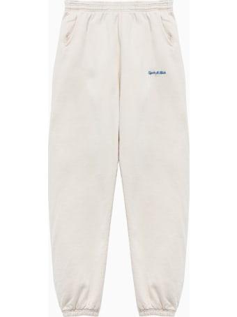 Sporty & Rich Classic Logo Pants Sw181mk