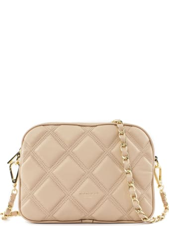 Avenue 67 Cloe Shoulder Bag In Pink Leather