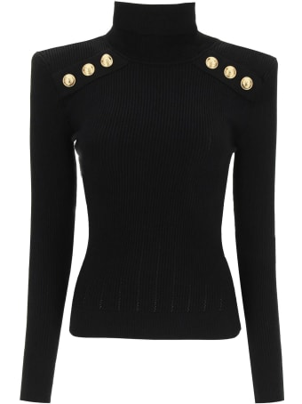 Balmain Sweater With Buttons