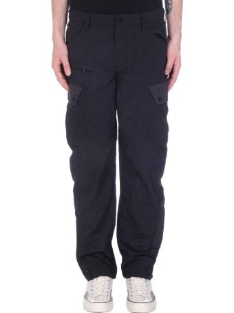 Maharishi Pants In Black Nylon