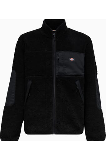 Dickies Red Chute Sherpa Jacket Dk0a4xtfblk1