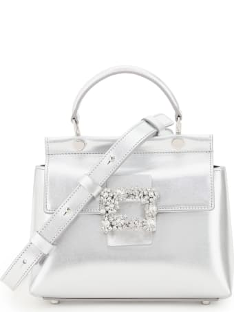 Roger Vivier Cabas Mini Bag Viv Flowers