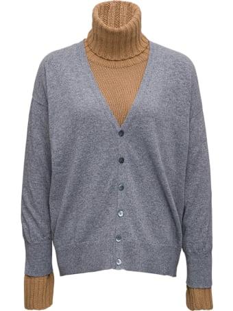 Jejia Layered Wool And Cashmere Sweater