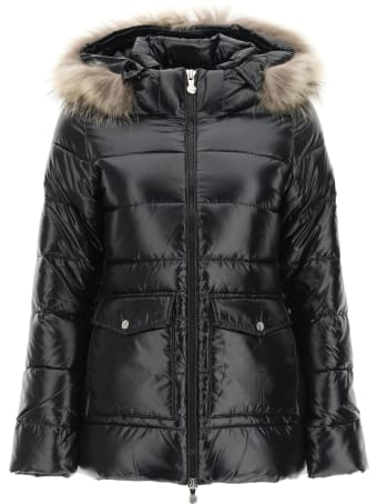 Pyrenex Authentic Down Jacket With Fur
