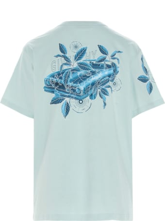 Givenchy 'floral Schematic Print' T-shirt