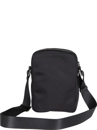 Dsquared2 Black Canvas Messenger Bag