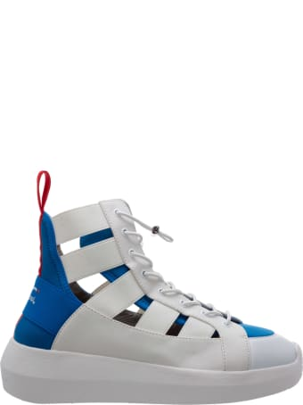 Fessura X Pepsi Hi-twins High-top Sneakers