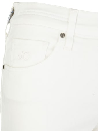 Jacob Cohen Woman White Kimberly Skinny Jeans