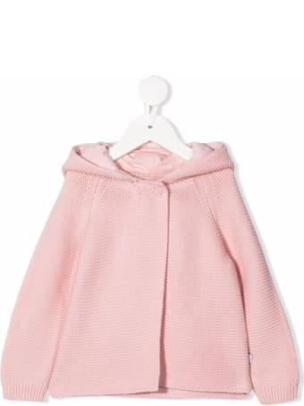Stella McCartney Kids Pink Knit Cardigan With Ears Detail