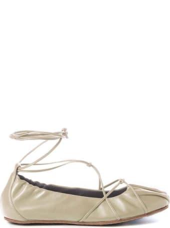 Vic Matié Vic Matié Ivory Ballerina Shoes