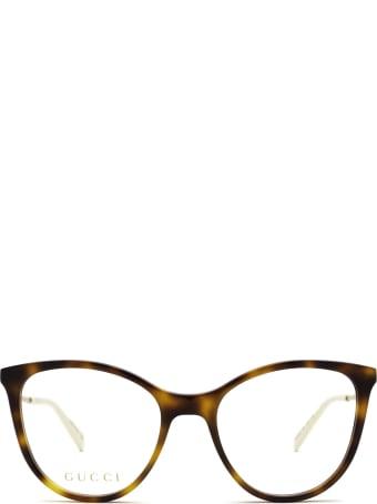 Gucci Gucci Gg1007o Havana Glasses