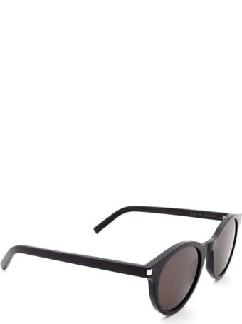 Saint Laurent Saint Laurent Sl 342 Black Sunglasses
