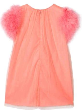 Charabia Apricot Dress Teen Kids