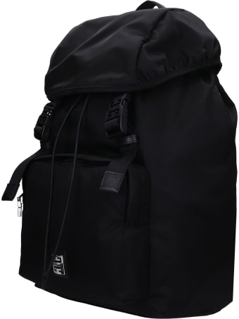 Givenchy Backpack In Black Nylon