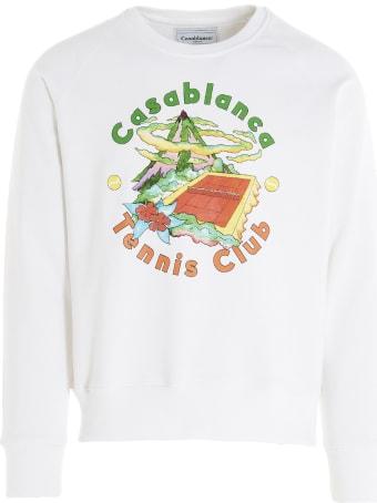 Casablanca 'casablanca Hibiscus' Sweatshirt