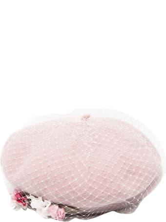 Monnalisa Pink Beret Girl