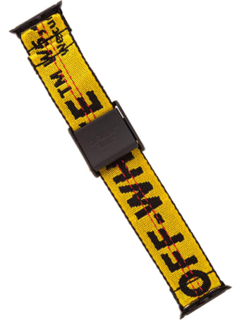 Off-White Yellow Iwatch Industrial Belt Band