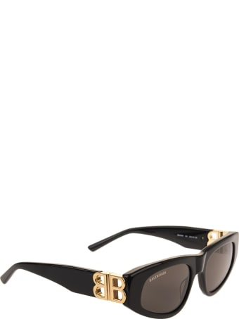 Balenciaga Woman Black Dynasty D-frame Sunglasses