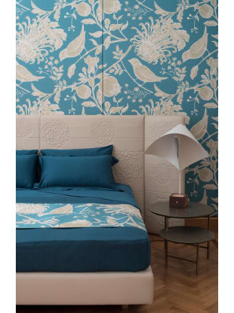 Midsummer Milano Cordonetto Green Bed Set