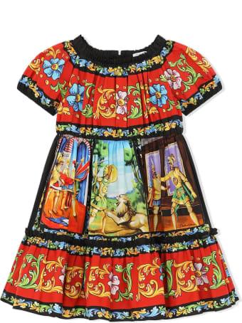Dolce & Gabbana Multicolour Cotton Dress