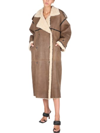The Mannei Double-breasted Coat