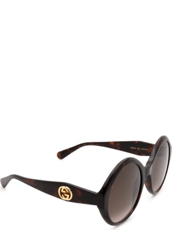 Gucci Gucci Gg0797s Havana Sunglasses