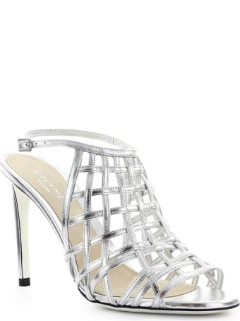 Grey Mer Fiji Silver Sandal
