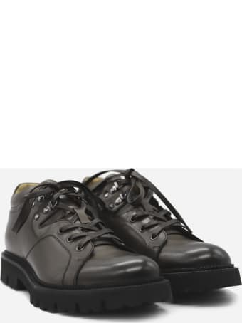 Eleventy Lace-up Shoes Made Of Leather