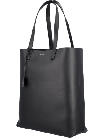 Saint Laurent Bold Shopping Bag In Soft Leather