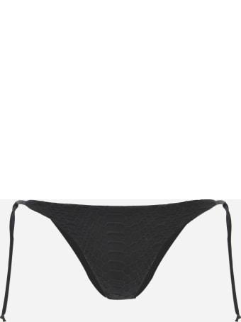 Fisico - Cristina Ferrari Bikini Bottoms With An Embroidered Design