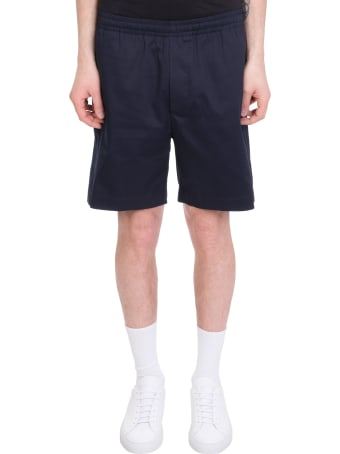 Mauro Gasperi Shorts In Blue Cotton