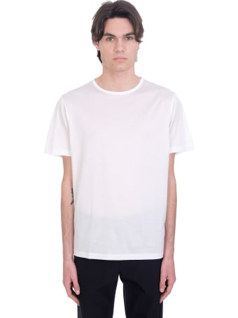 Theory T-shirt In White Cotton