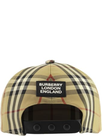 Burberry Trucker Cap - Baseball Cap With Vintage Check Pattern And Logo Patch