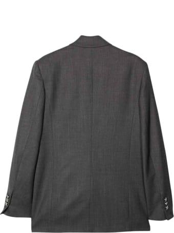 Balmain Teen Gray Jacket